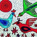 Mayan Birds by Sarah Loft