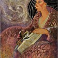 Mayan From Milky Way Gallacy by Pamela Mccabe