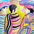 Mayan Indians by Stanley Morganstein