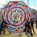 Mayan Patterns Kite by Nettie Pena