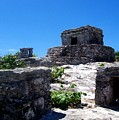 Mayan Ruins In Tulum by Elise Samuelson
