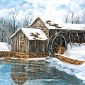 Maybry Mill by Marveta Foutch