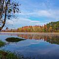 Mayor's Pond, Autumn, #1 by Gregory Schultz