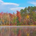 Mayor's Pond, Autumn, #4 by Gregory Schultz