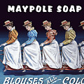 Maypole Soap Retro Vintage Ad 1890's by Daniel Hagerman