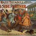 Mazie Trumbull And Her Fun Crowd Dads Side Partner Vintage Entertainment Poster 1908 by R Muirhead Art