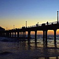 Mb Pier Sunset by Michael Cappelli