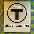 Mbta Underground by Jeff Cutler