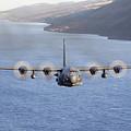 Mc-130h Combat Talon II Over Loch Ness by Gert Kromhout