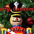 Custom Soldier Christmas Card by David Lee Thompson