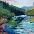 Mccloud River Sunset by Janet Biondi