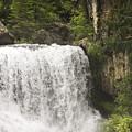 Mccloud Upper Falls by Karen  W Meyer