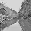 Mcconnells Mill In Late March by Digital Photographic Arts