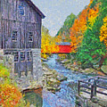 Mcconnells Mill State Park  by Digital Photographic Arts