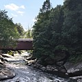 Covered Bridge by Kimberly  W