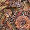 Mccormick Combine Harvester Detail by Theresa Tahara