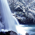 Mccoy Falls In January by Thomas R Fletcher