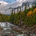 Mcdonald Creek  Glacier National Park by Brenda Jacobs