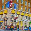 Mcdonald Restaurant Old Montreal by Carole Spandau
