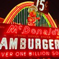 Mcdonald's Historical Neon by The Art of Alice Terrill