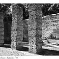 Mcintosh Sugar Mill Tabby Ruins 1825  by Rebecca Stephens