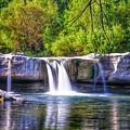 Mckinney Falls by Robert Clark