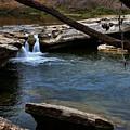 Mckinney Falls State Park-upper Falls 6 by Judy Vincent