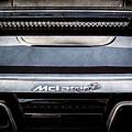 Mclaren 12c Spider Rear Emblem -0106ac by Jill Reger