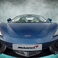 Mclaren Sports Car by Adrian Evans