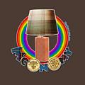 Mconomy Rainbow Brick Lamp by Big Fat Arts