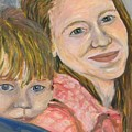 Me And My Boy Detail by Emily Michaud