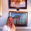 Me With Wailing Bird And Little Green Heron by AnnaJo Vahle