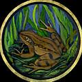 Meadow Frog by Anna Folkartanna Maciejewska-Dyba