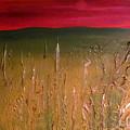 Meadows Autumn Sunset  by Emma Farrow