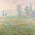 Meadows In Giverny by Claude Monet