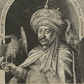 Mechti Kuli Beg Persian Ambassador To Prague by Aegidius Sadeler