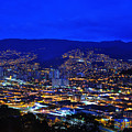 Medellin Colombia At Night by Jess Kraft