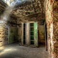 Medical Cabinet Eastern State Penitentiary by Anthony Sacco