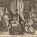 Medicine: Pl.6 by Theodor Galle After Jan Van Der Straet