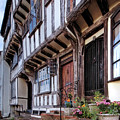 Medieval British Architecture - Dick Turpin's Cottage Thaxted by Gill Billington