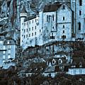 Medieval Castle In The Pilgrimage Town Of Rocamadour by Silva Wischeropp