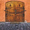 Medieval Door Sighisoara by Adam Rainoff