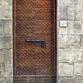 Medieval Florence Door by Dave Mills
