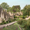Medieval Houses In Arlington Row In Cotswolds Countryside Landsc by Matthew Gibson