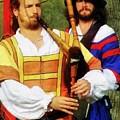 Medieval Minstrels by RC DeWinter