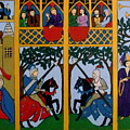 Medieval Scene by Stephanie Moore
