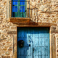 Medieval Spanish Gate And Balcony by Weston Westmoreland