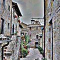 Medieval Street by Valentino Visentini