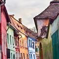 Medieval Streets by Gabriela Insuratelu