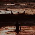 Meditari - Red by Linda Shafer